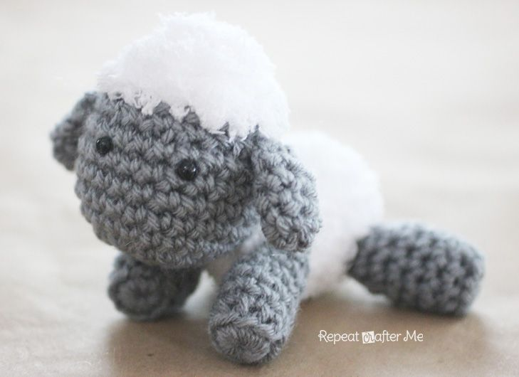 Crochet Lamb Pattern And Baby Mobile Lambs Crochet And Patterns