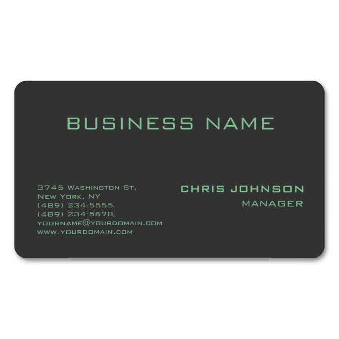Rounded corner green gray manager business card pinterest rounded corner green gray manager business card make your own business card with this great design all you need is to add your info to this template cheaphphosting Choice Image