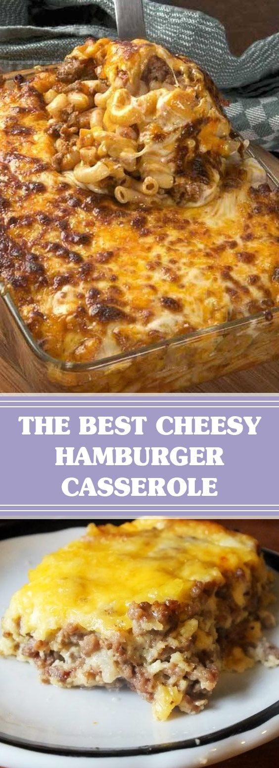 ★★★★★ 77 reviews: The Best Cheesy Hamburger Casserole | This Cheesy Hamburger Casserole is just as easy to make as Hamburger Helper, and you can control the ingredients. Great weekday meal and the kids love it! #cheeseyhamburger #hamburgercasserole #dinnerrecipes | allrecipes.today #hamburgercassarole