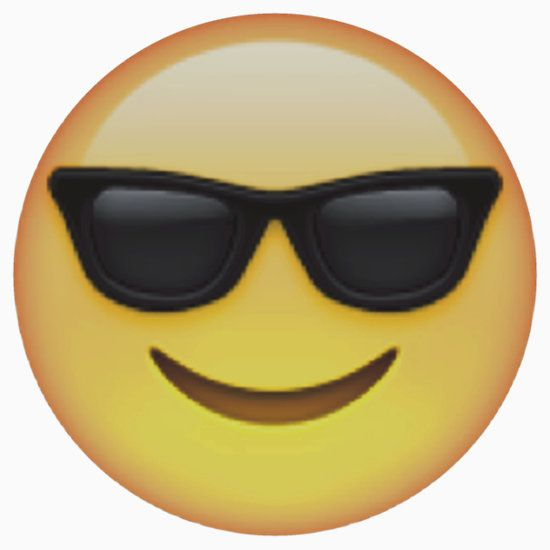sunglasses emoji emojis pinterest