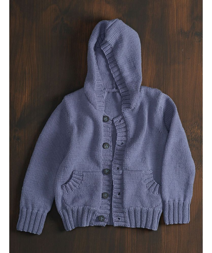 3ad86be12c64de Free Knitting Pattern for a Kid s Hoodie