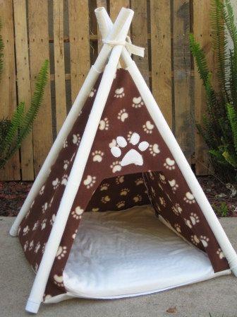 Dog bed pet teepee dog house | Dog houses, Dog beds and Dog
