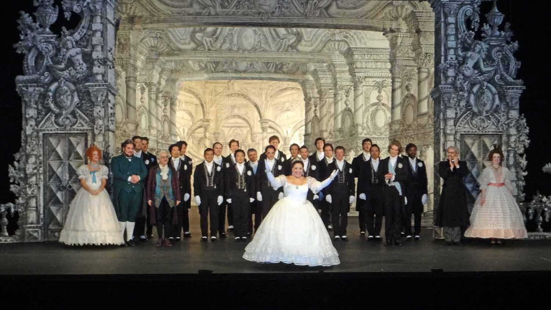 Model Les Miserables The Musical National Tour Stage Set Design Black Models Picture