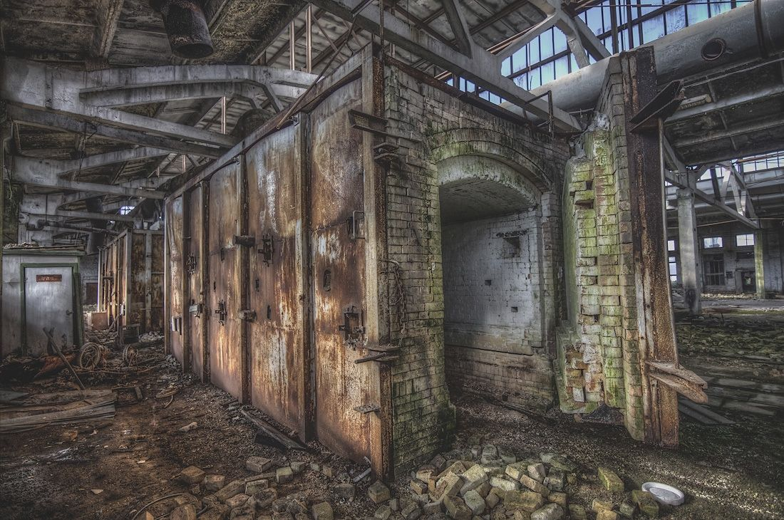 The remains of the Noviy brothers porcelain factory. Russia ... for Abandoned Factory Russia  66pct