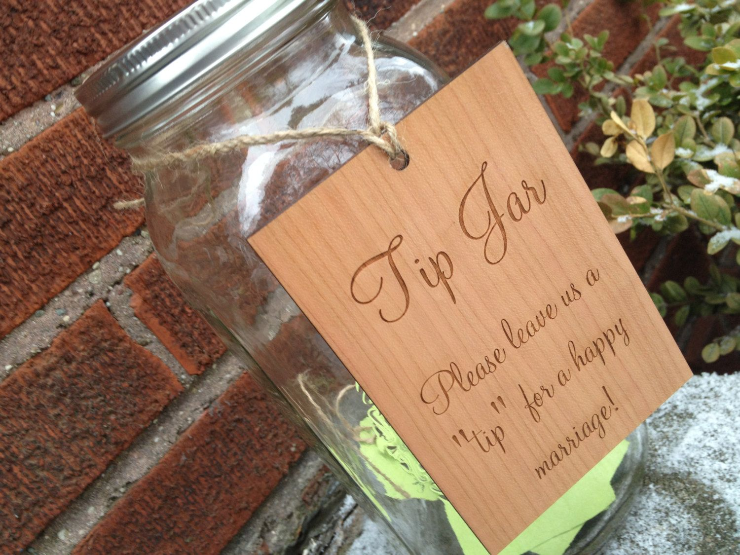 Rustic Guest Book Alternative, Country Wedding, Marriage Advice ...
