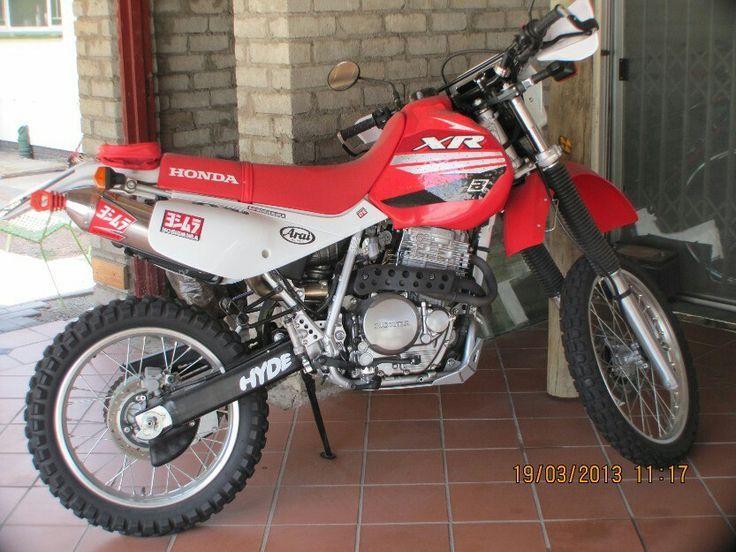 Honda xr 650 (With images) Dual sport motorcycle, Honda