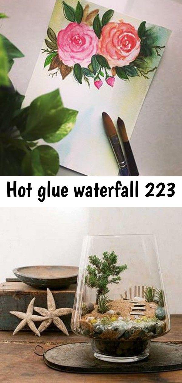 Hot glue waterfall 223 Have a great day! ? Beach Scene Terrarium GreenLabs: Pflegeanleitung - The golden Rabbit - beste Gartengeräte für Gartenliebhaber MD-Terraristik - Giraffenholz sandgestrahlt