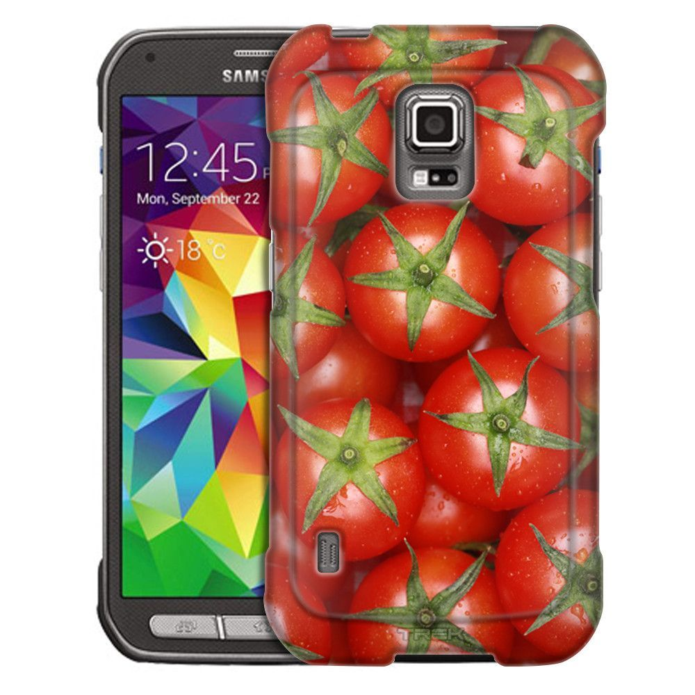 Samsung Galaxy S5 Active Tomatoes Trans Case