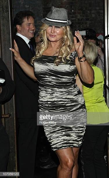 Brendan Fraser and Jennifer Coolidge attend the after party for the...
