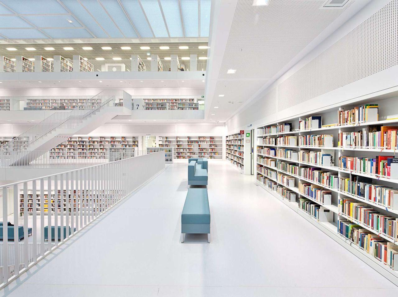 Hasil gambar untuk Stuttgart City Library
