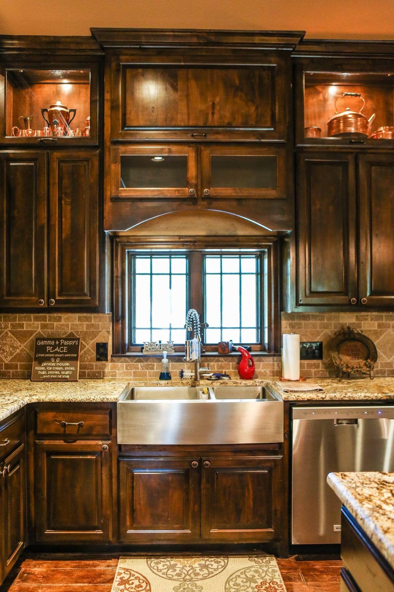 Rustic Kitchen Cabinet Designs 2021 | Tuscan kitchen ...