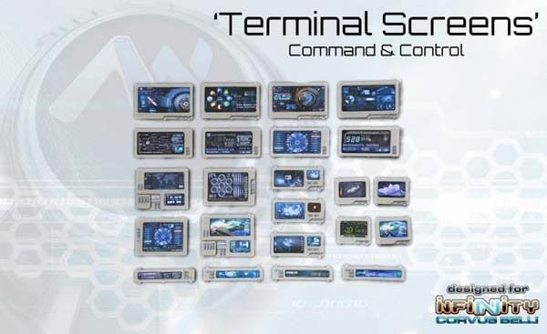 Command Terminal / Computer Console Screens (23)