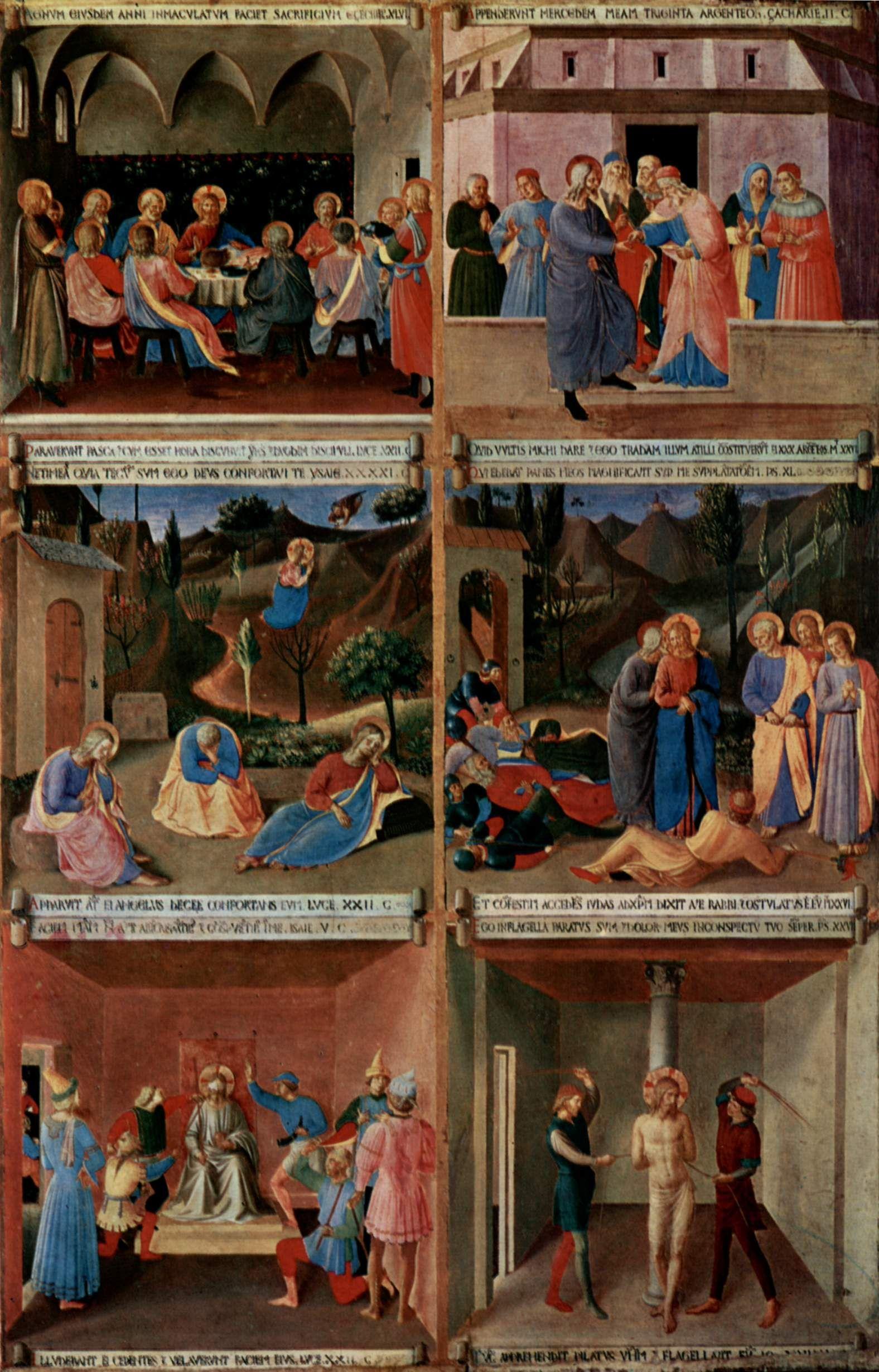 Fra Angelico (circa 1395–1455) - Bildzyklus zu Szenen aus ...