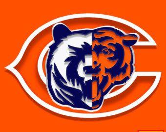 chicago bears chicago bears logos collide da bears chicago bears rh pinterest ca