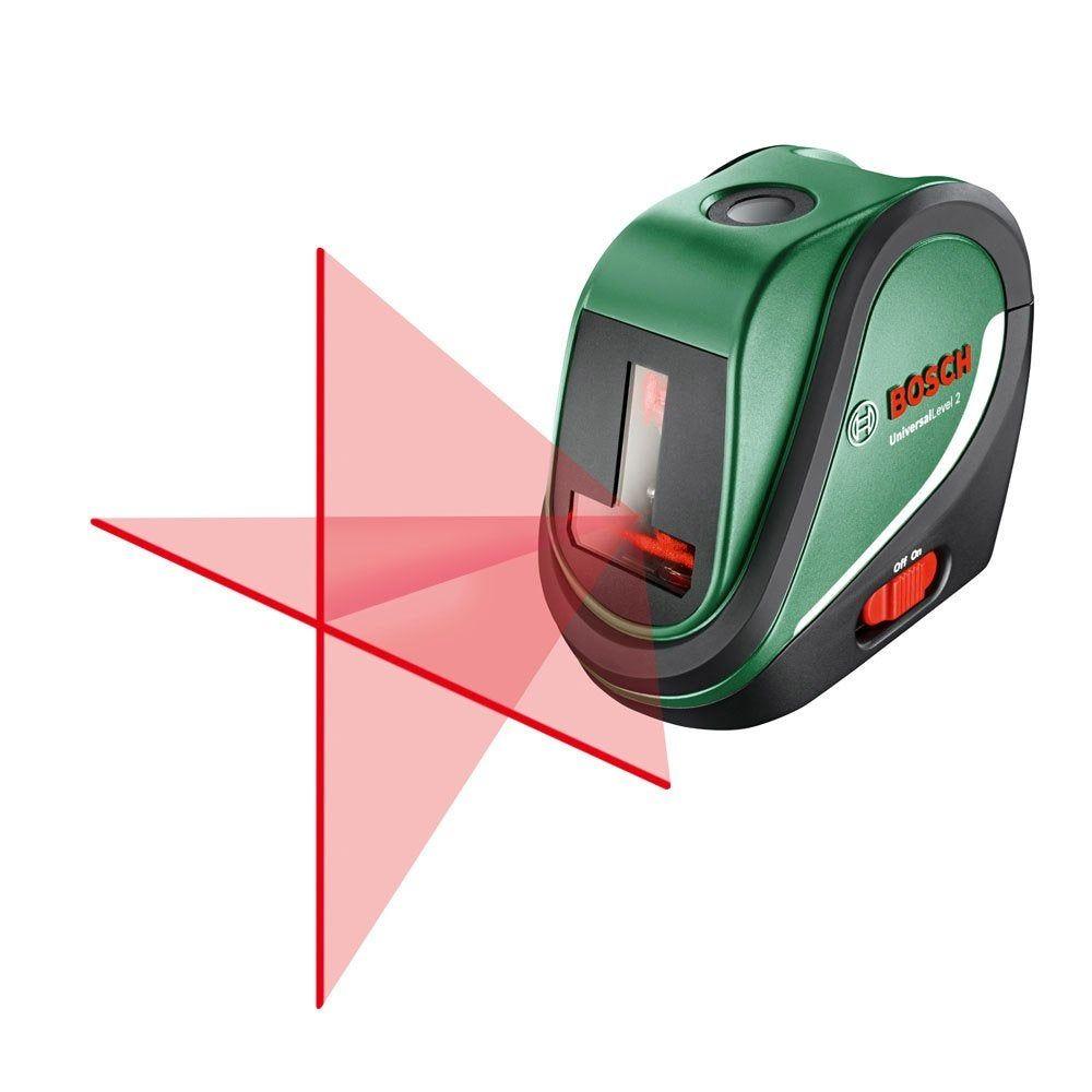 Niveau Laser Croix Optique Bosch Universal Level 2 Basic En
