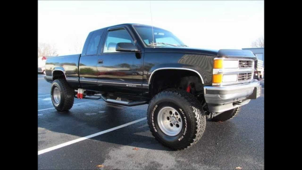 1996 Chevrolet K1500 Cheyenne Lifted Truck For Sale Trucks Classic Pickup Trucks Lifted Trucks For Sale
