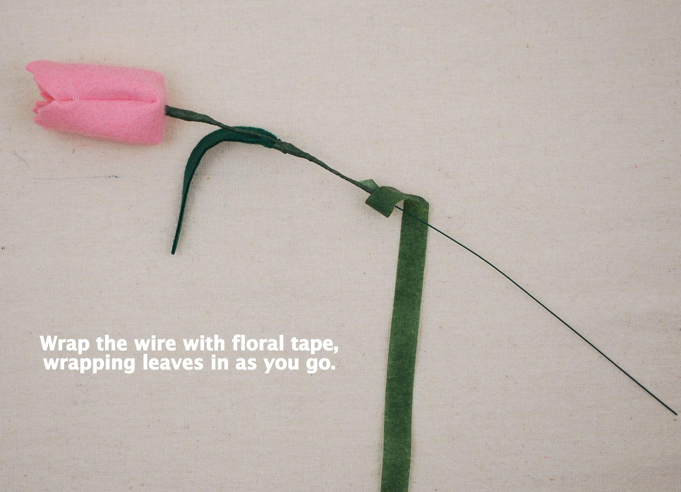 Felt Tulip Tutorial