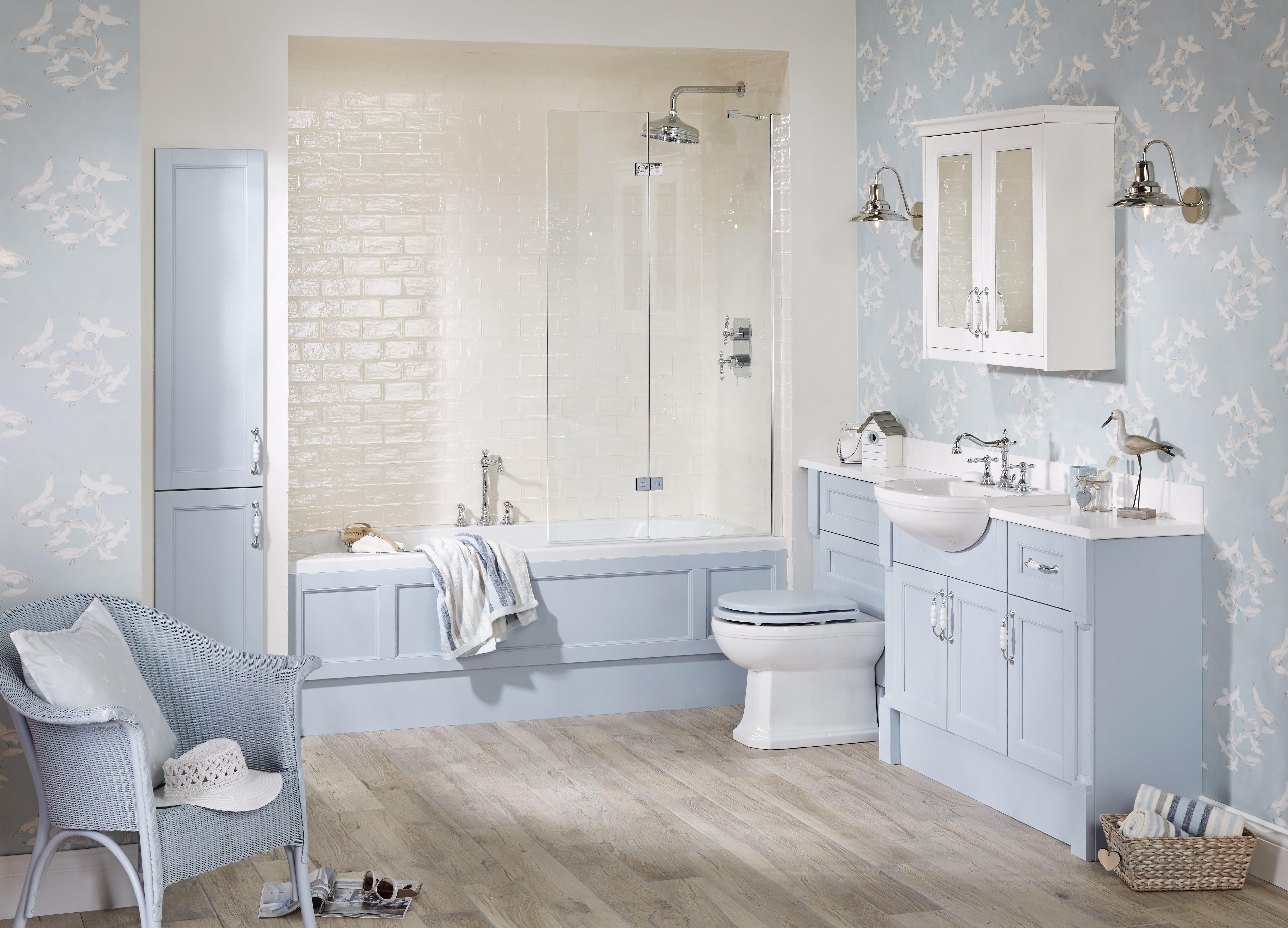 Pastel blue bathroom furniture from Utopia Bathrooms. | Pastels in ...