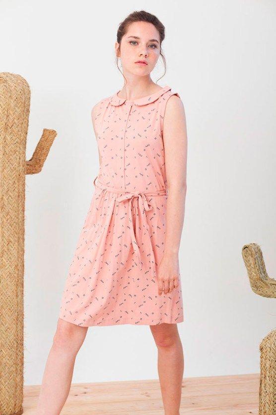 Tiralahilacha moda sostenible de mujer
