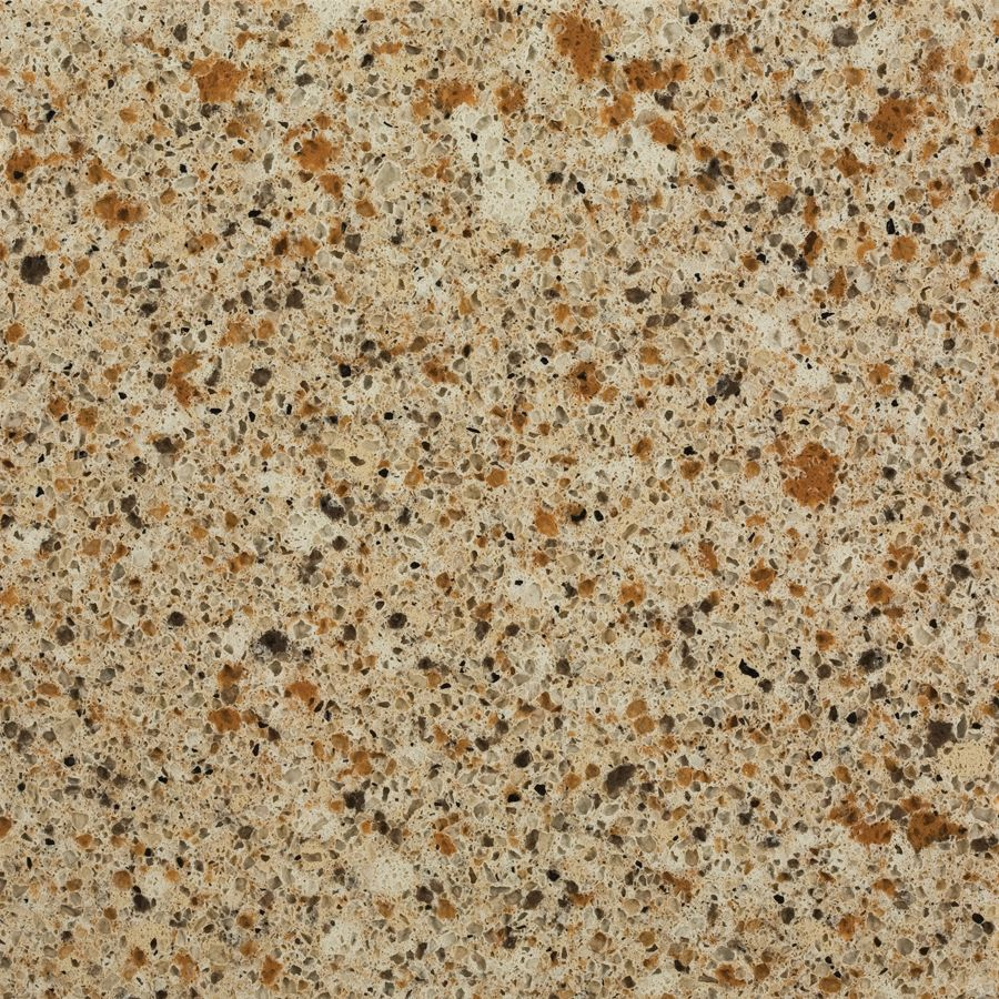 Shop Allen Roth Saffron Quartz Kitchen Countertop Sample