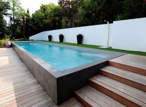 carr bleu piscine en 2019 piscine piscine semi. Black Bedroom Furniture Sets. Home Design Ideas