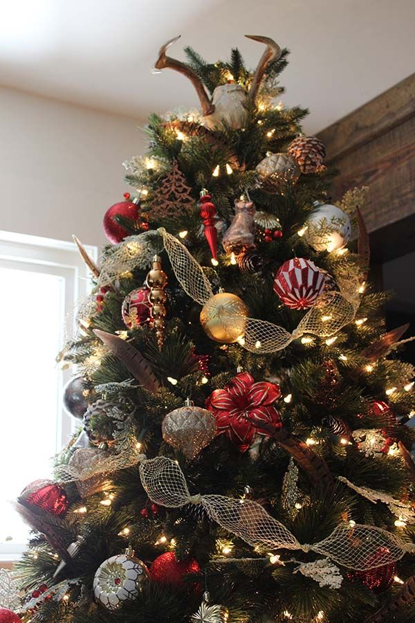 Christmas Decorating With a Luxe Christmas Lodge Theme | Holiday ...