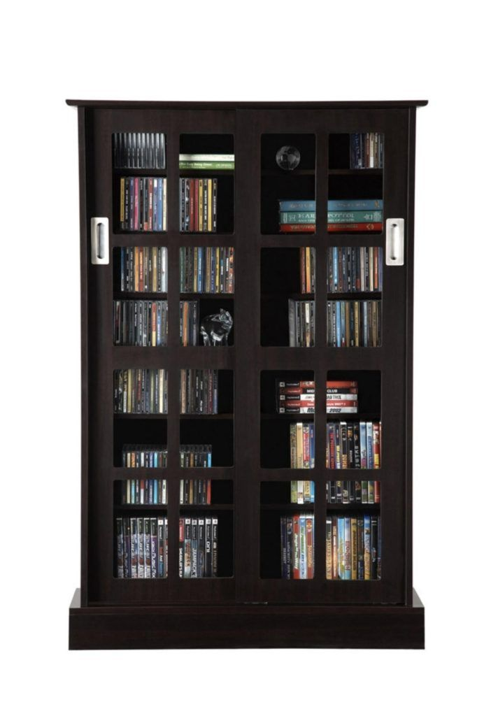 Black Dvd Cabinet With Glass Doors Glass Doors Pinterest Dvd