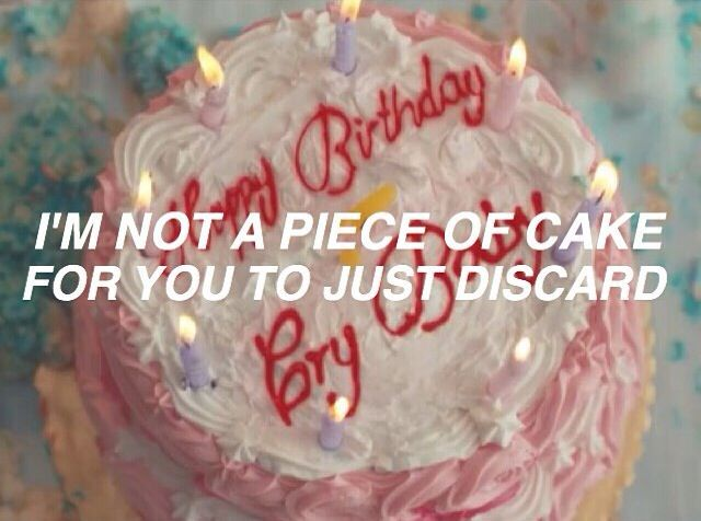 cake melanie martinez hsummer11 SOUNDS Pinterest