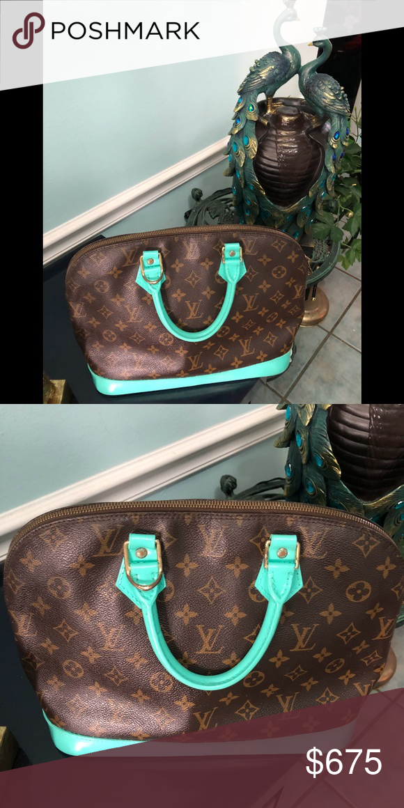 ee82fc1738d0 ... on Poshmark  Louis Vuitton Speedy 35 Custom Painted Keepall!.   shopmycloset  poshmark  fashion  shopping  style  forsale  Louis Vuitton   Handbags