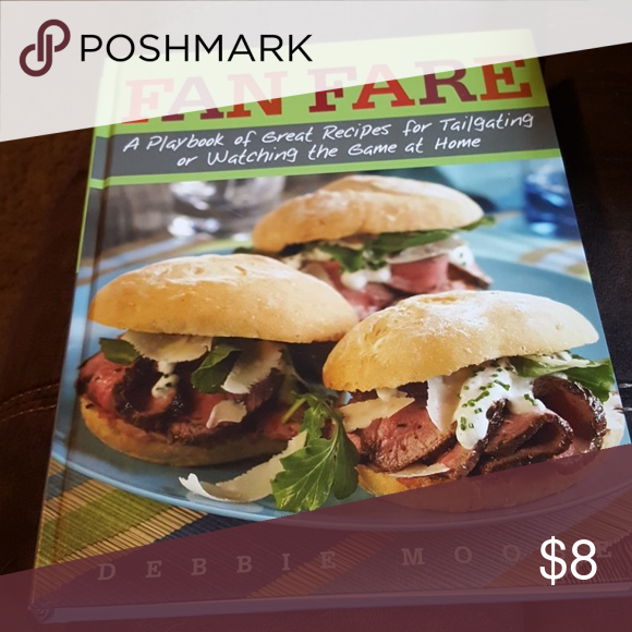 Cookbook Fun cookbook, recipes for tailgating/watching the game! Other