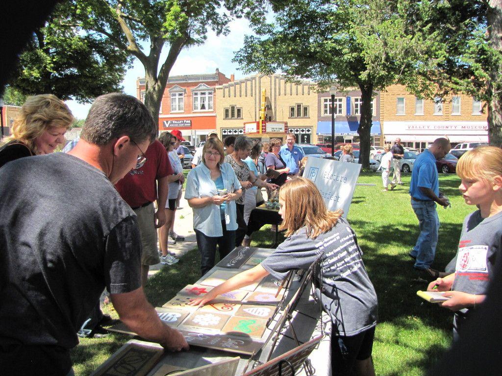 Nebraska Loves Public Schools' next stop: Ord. June 2014 for ESI Camp!