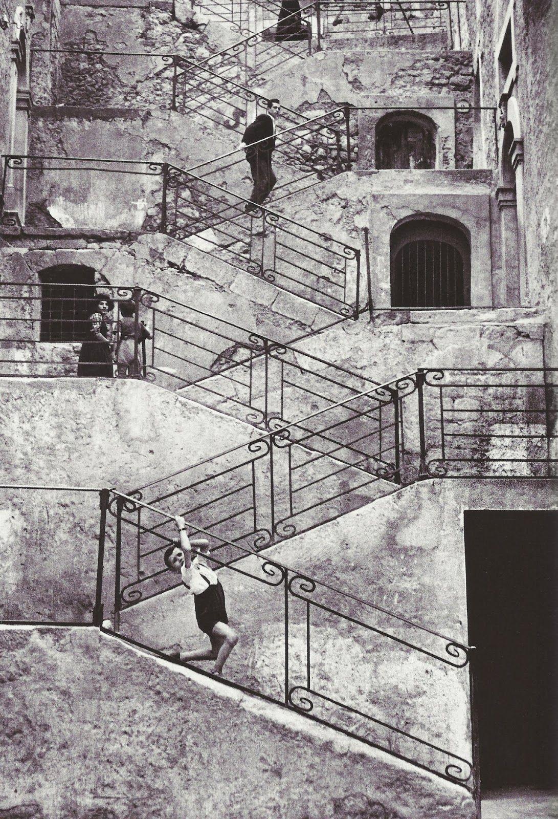 René Burri.  Leonforte, Sicily 1956