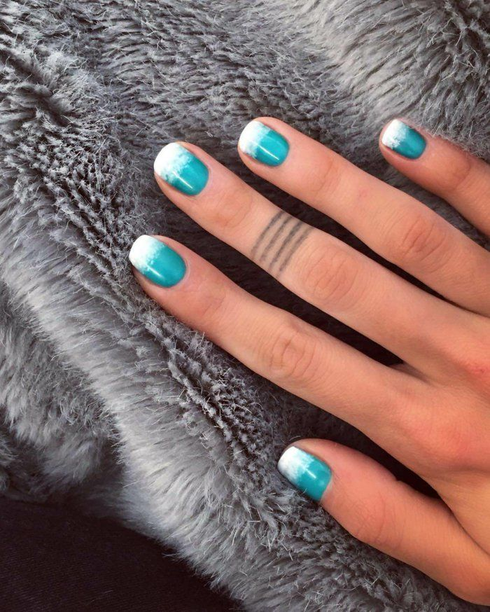 nagellack ideen kurze n gel frisch nageltrends lifestyle pinterest kurze n gel nagellack. Black Bedroom Furniture Sets. Home Design Ideas