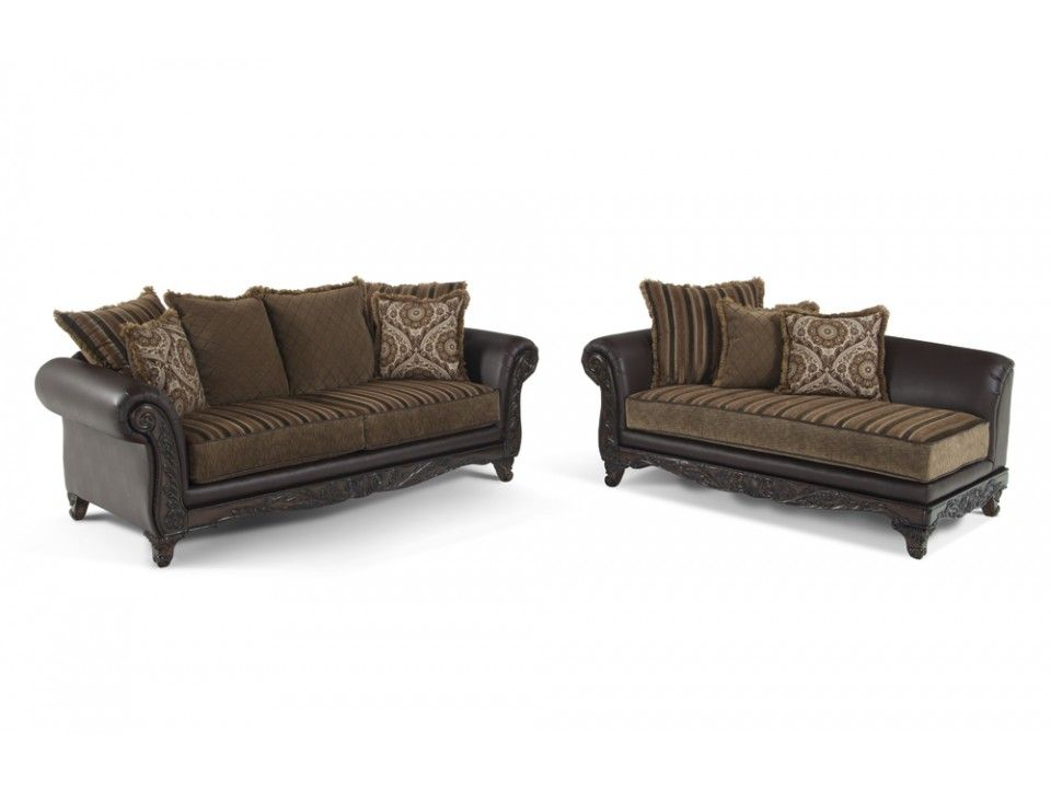 Venice sofa chaise living room sets living room - Bob s discount furniture living room sets ...