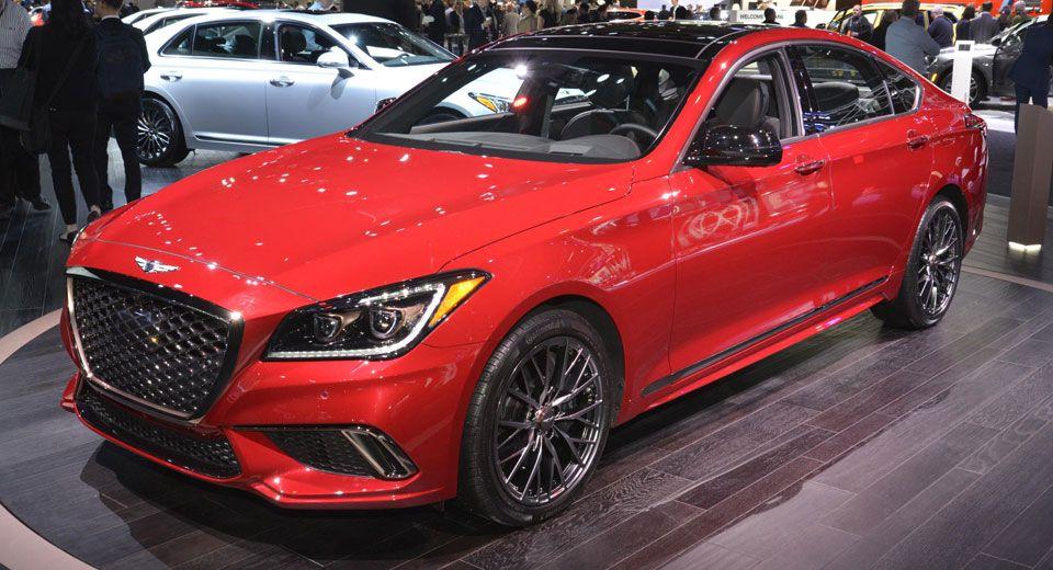 2018 Genesis G80 Sport Is Oh So Tempting In Red