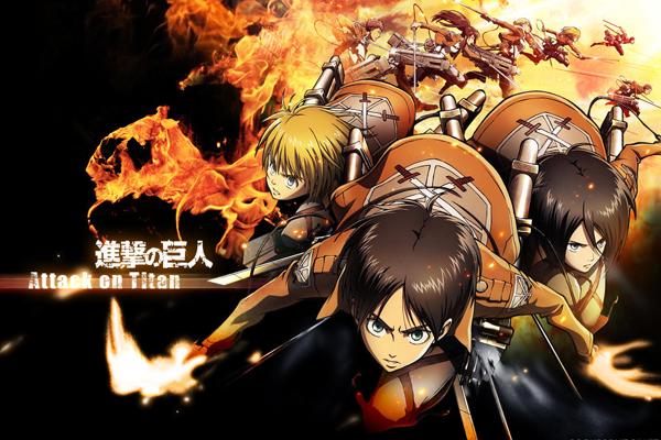 Shingeki No Kyojin Anime on Anime, Attack on titan