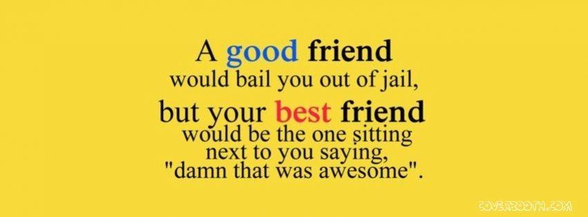 True Friendship Quotes For Facebook