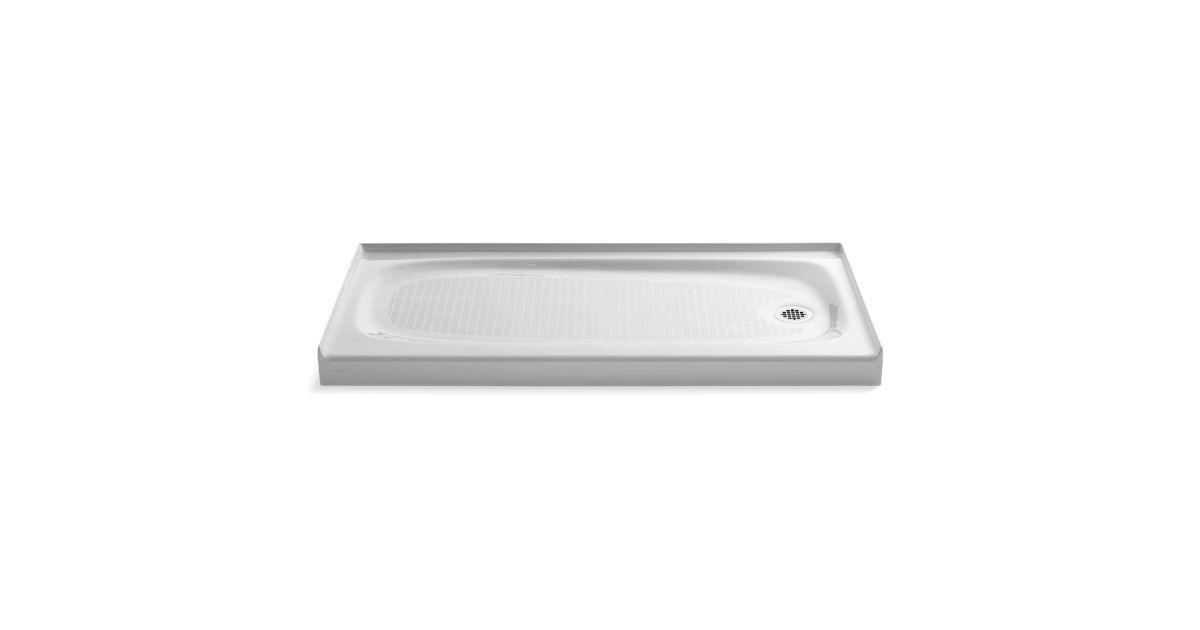 Salient Shower Base Right Drain K 9054 Kohler