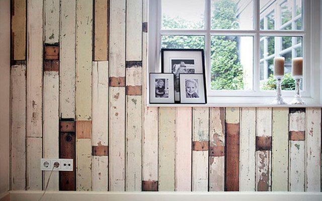 4 Ideas para decorar paredes en 3D y dar volumen a tus muros - decoracion con madera en paredes
