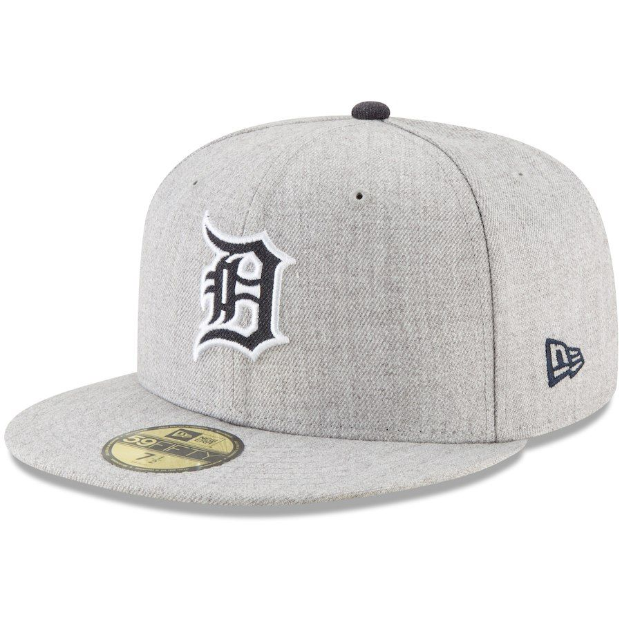 2d147fdef4661b Men's Detroit Tigers New Era Heathered Gray Hype 59FIFTY Fitted Hat, Your  Price: $34.99
