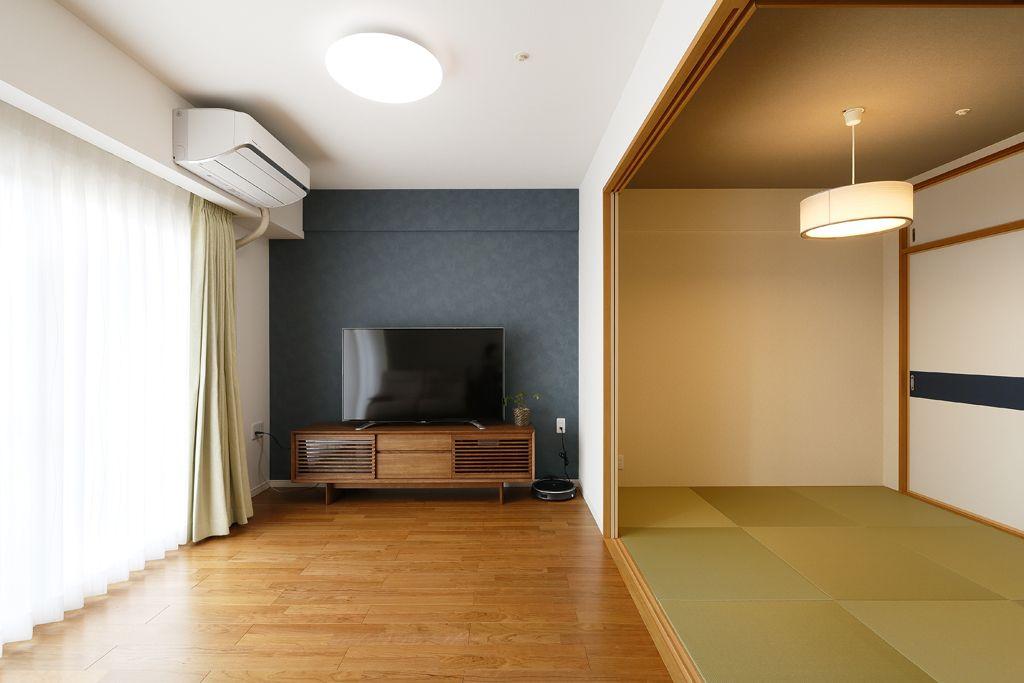 和室 アクセントクロス の画像検索結果 住宅リフォーム 和室