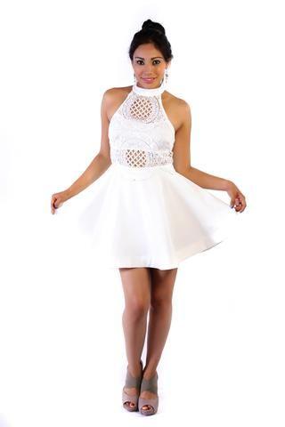 CoctelY Vestido BodiceVestidos White White Coctel BodiceVestidos Vestido WHeE2IYD9