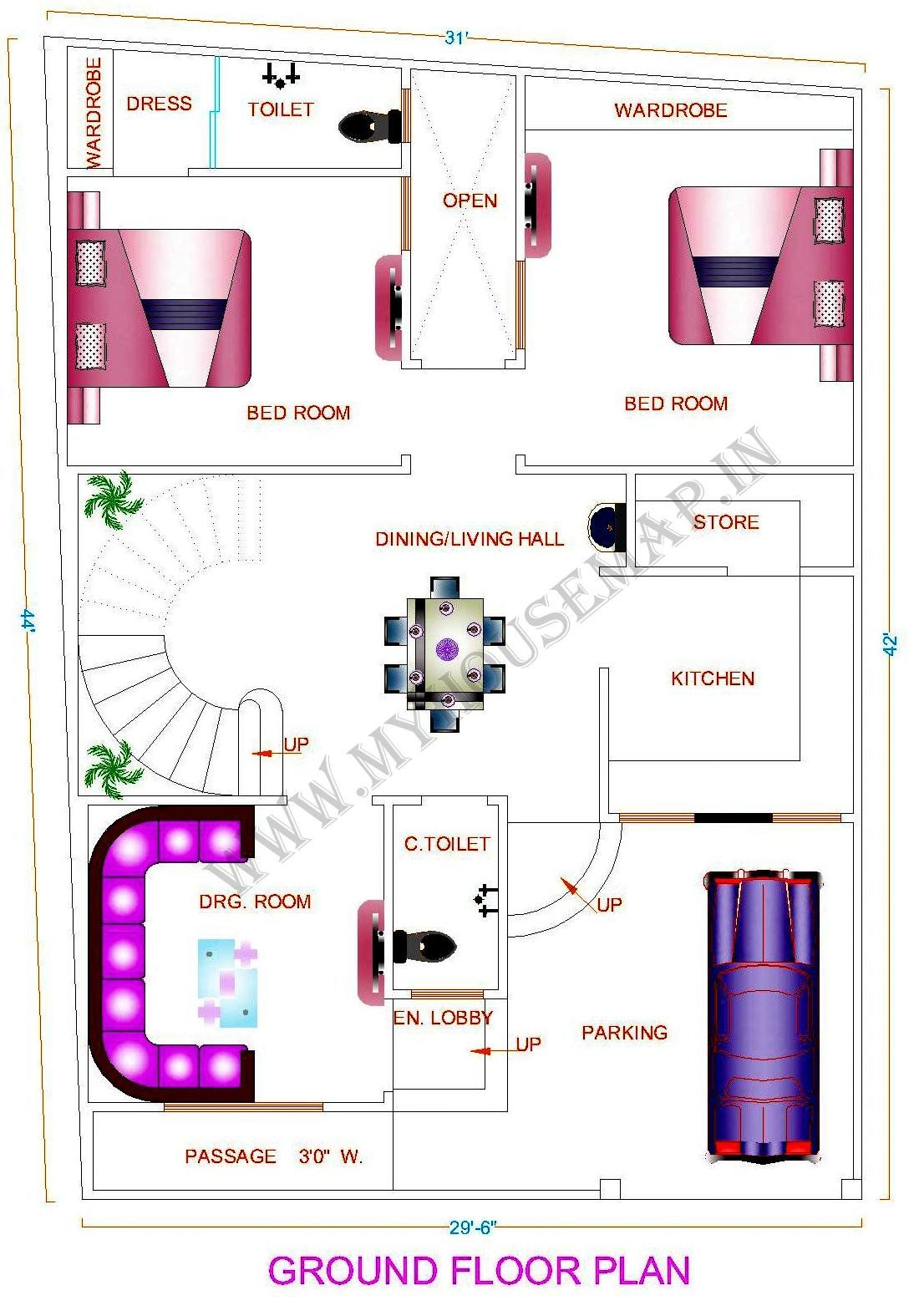 House Map Front Elevation Design House Map Building Design House Designs House Plans House Map House Plans 30x40 House Plans