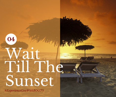 Be one of those lucky ones to be part of the most beautiful Sunsets ever. Goa offers the best hues in the sky