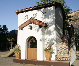 Spanish Hacienda Playhouse Spanish Style Homes Backyard Guest