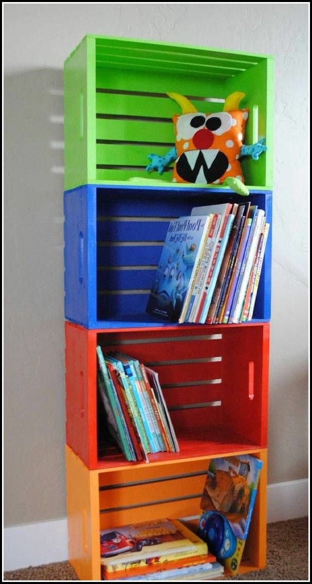 Bücherregal Kinderzimmer Selber Bauen Bücherregal