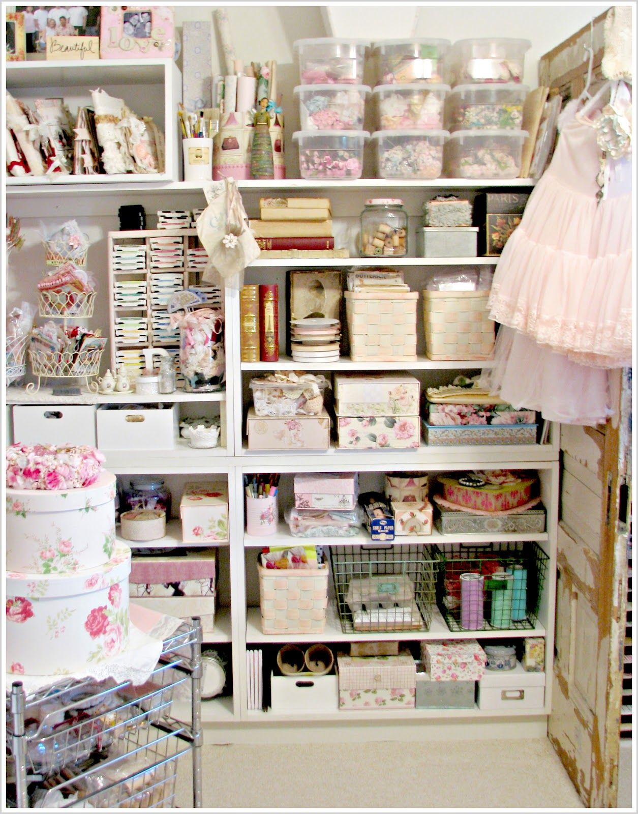 life in my studio | Inspiring Storage Ideas | Pinterest | Atelier ...