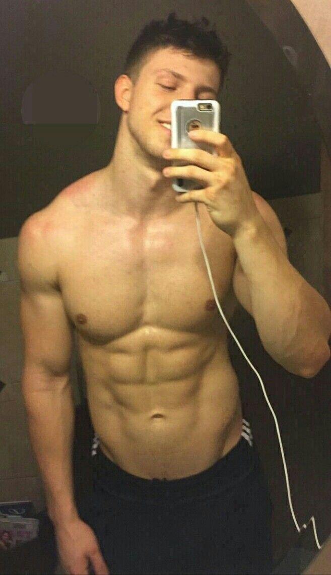 Oberkörper Selfie