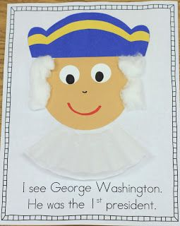 Mrs. Ricca's Kindergarten: Presidents' Day Freebie!