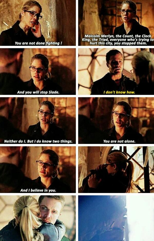 2x22 Streets Of Fire [gifset] - You are not done fighting! - Oliver